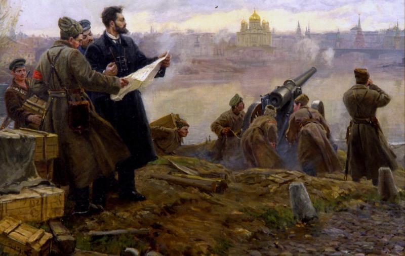 Пламенный большевик, сподвижник Троцкого, революционер Павел Штернберг