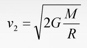 formula 2 300x168 - Вторая космическая скорость