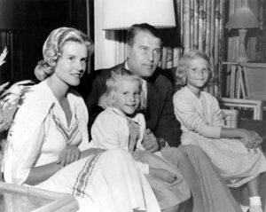 Профессор доктор фон Браун со своей семьей, около 1957 года.