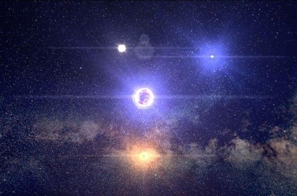 100000 звезд - новый инструмент визуализации Млечного Пути от Google