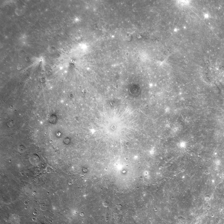 Бассейн Калорис на Меркурии