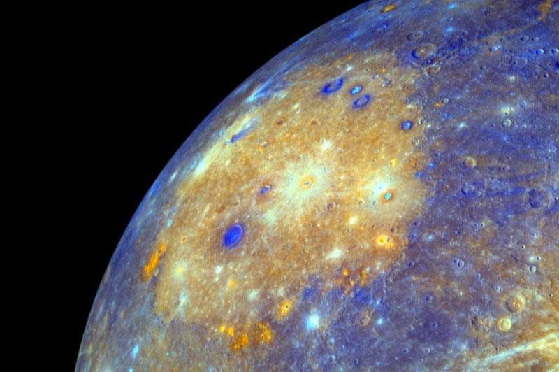 Ударный бассейн Калорис на Меркури