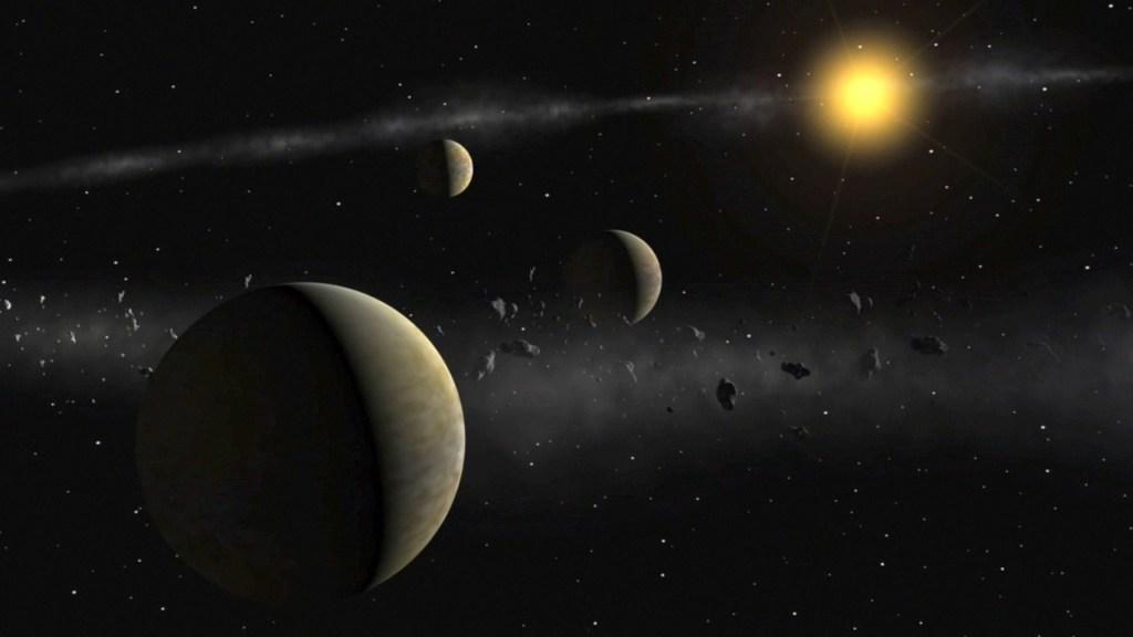 Экзопланеты в представлении художника