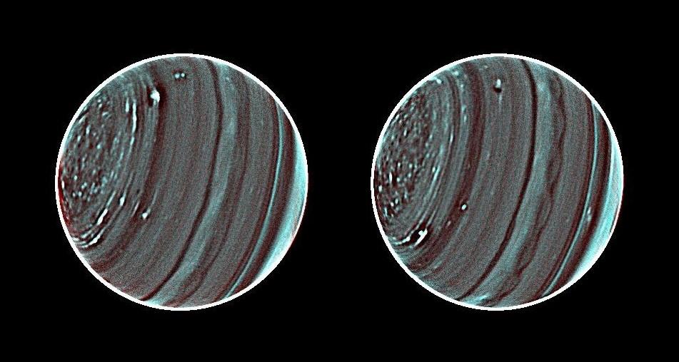 Инфракрасный снимок Урана ESO