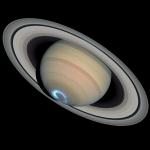Комбинированное изображение Кассини и Хаббла