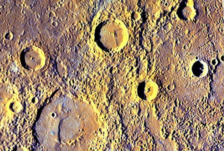 Кратеры на Меркурии