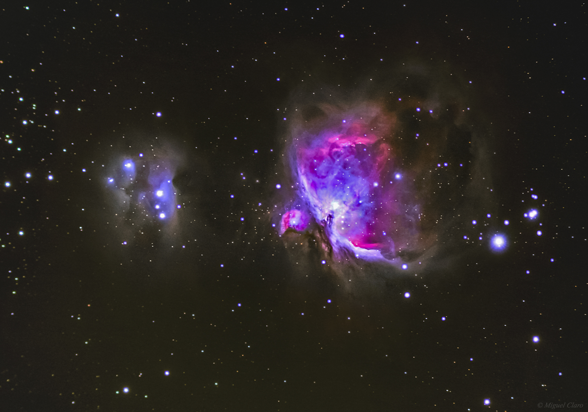 Туманность Ориона M42