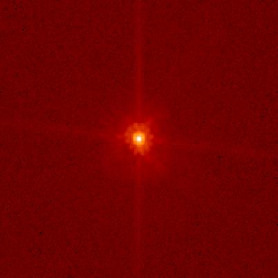 Макемаке, вид в телескоп Хаббл