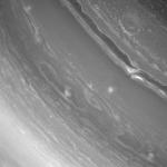 Шторм в атмосфере Сатурна