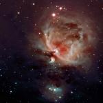 Снимок получен с использованием узкополосных фильтров на телескопе TMB105