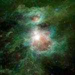 Снимок с телескопа WISE