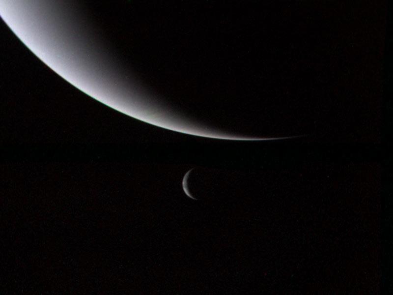 Серп Нептуна и Тритона