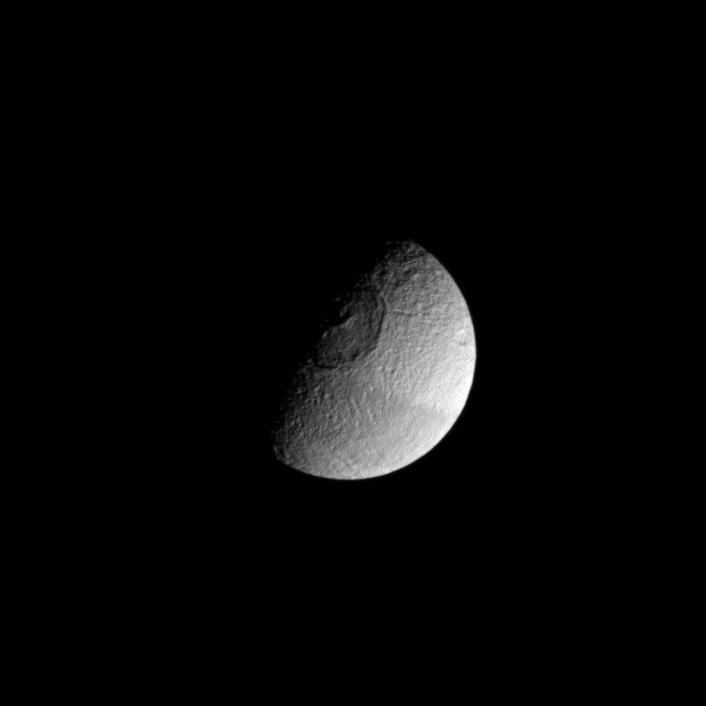 Tethys  astronomy  Britannicacom
