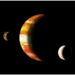 Юпитер Европа и Ио