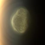 Южный полярный вихрь на Титане