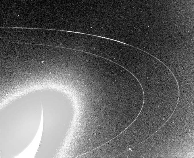 Дуги в кольце Нептуна Адамс