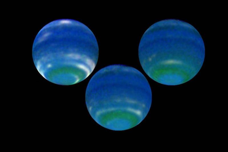 Изменения в атмосфере Нептуна