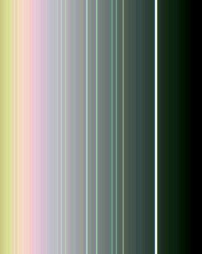Кольца Урана в искусственных цветах