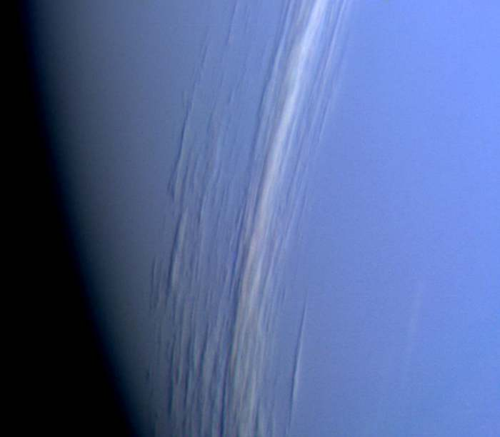 Облака на Нептуне