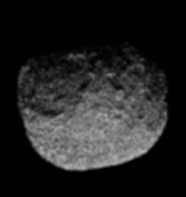 Протей, снимок Вояджера-2