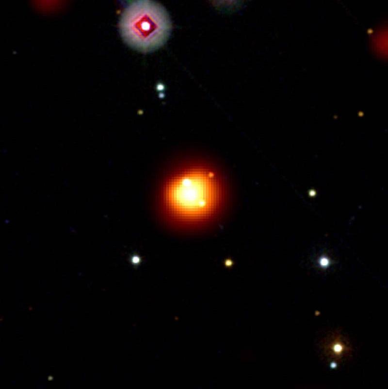 Сверхновая звезда GRB 080913