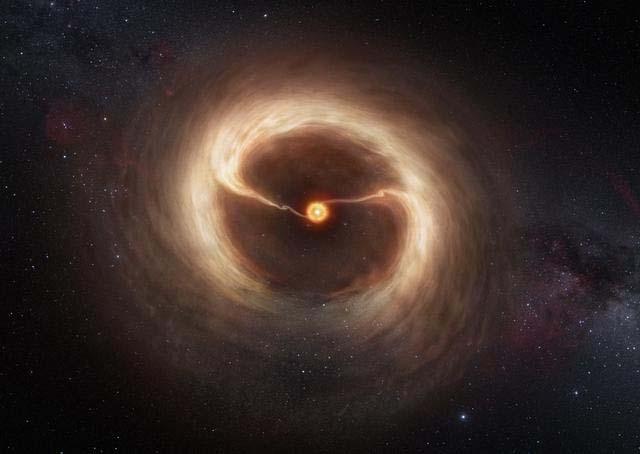 Как происходит формирование планет