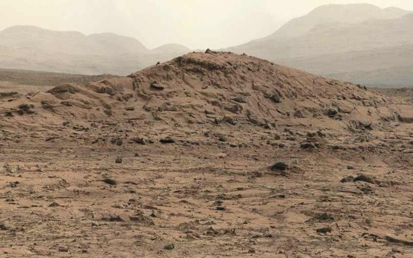 Холм на Марсе