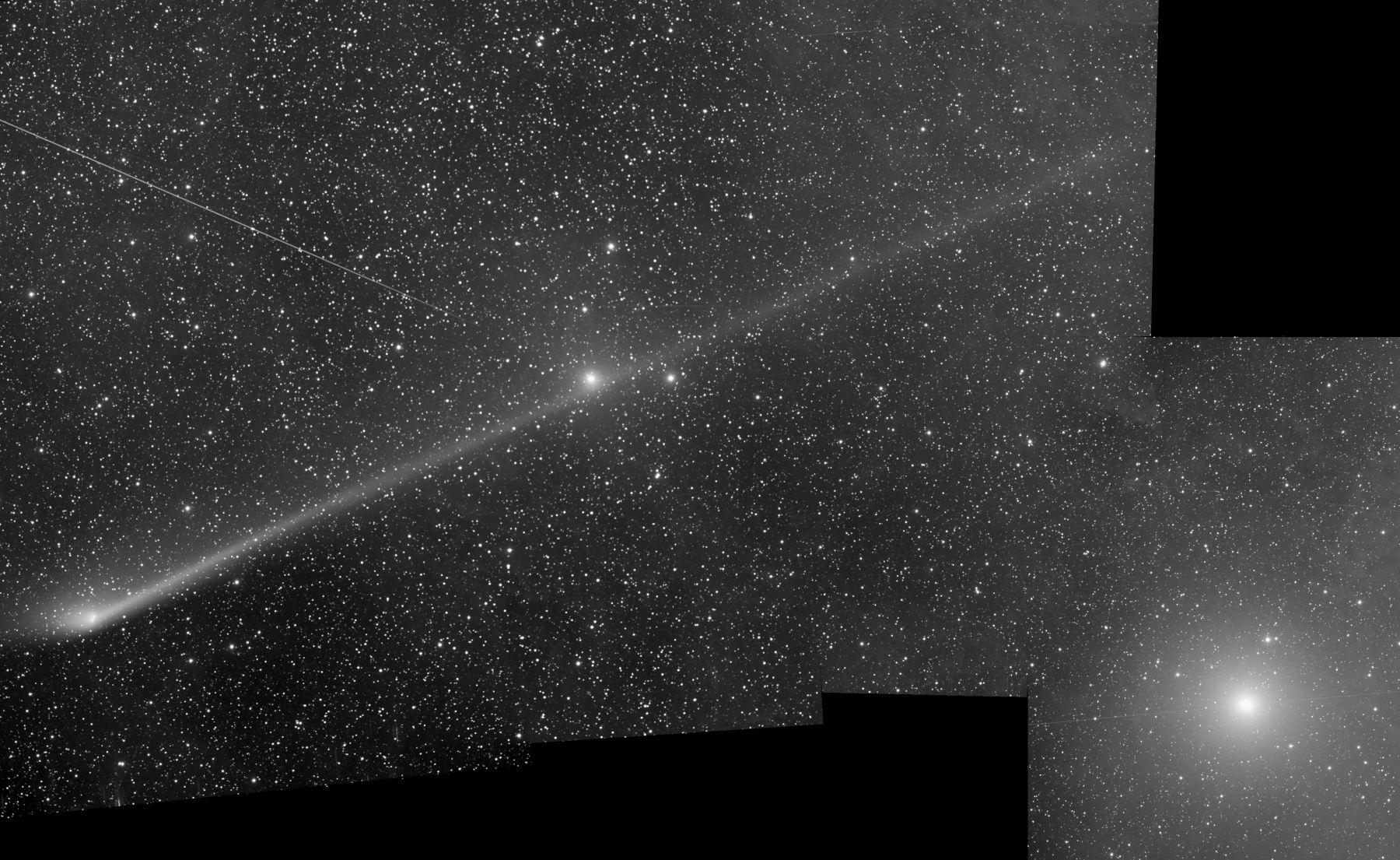 Комета C/2011 L4 Panstarrs и Полярная звезда
