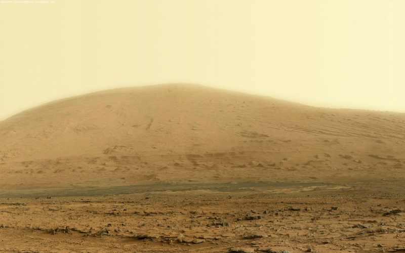 Марсианский холм