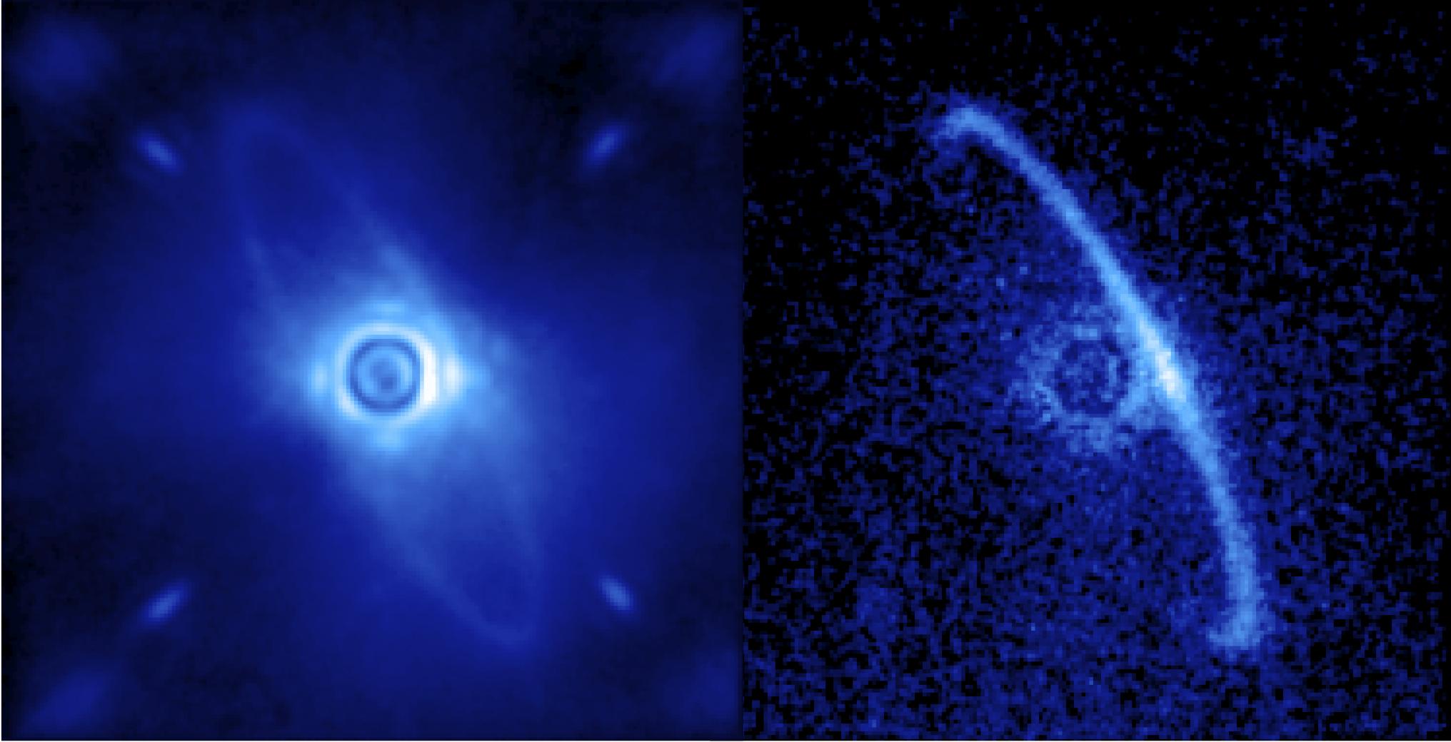 Пылевой диск вокруг звезды HR4796A