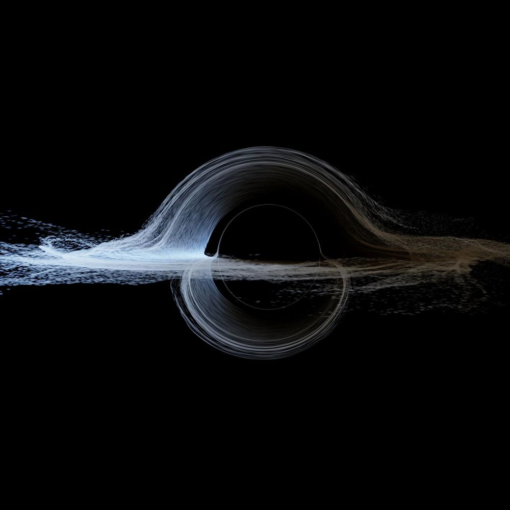 Реалистичный концепт аккреционного диска вокруг сверхмассивной черной дыры