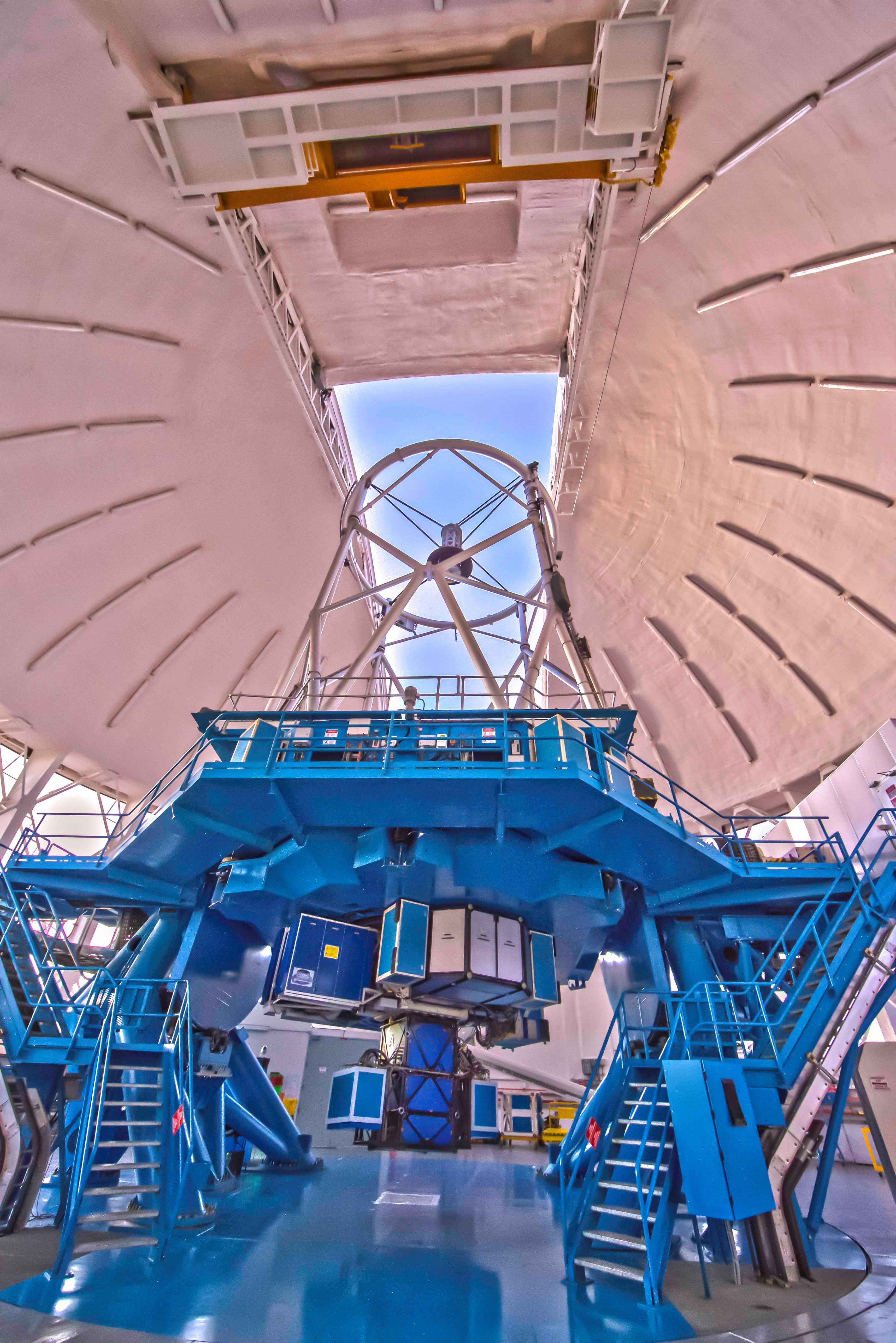 Телескоп Джемини Юг с установленным тепловизором GPI