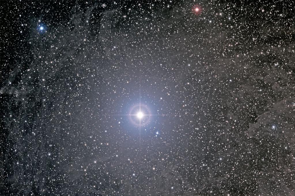 Туманность вокруг Полярной звезды