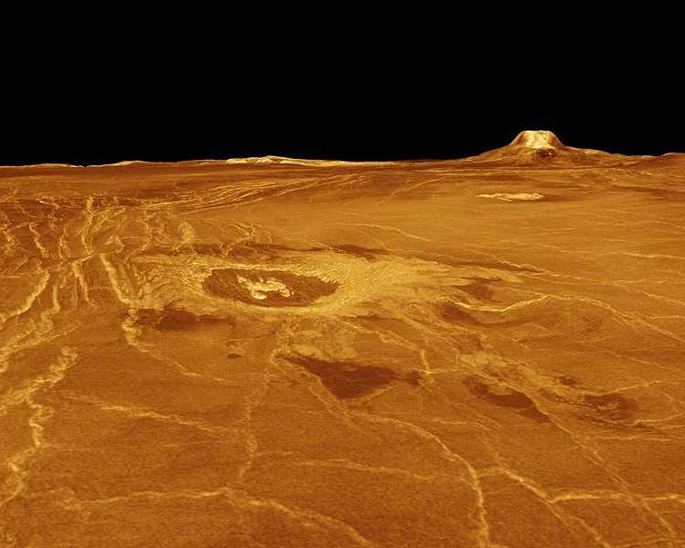 3-D изображение поверхности Венеры