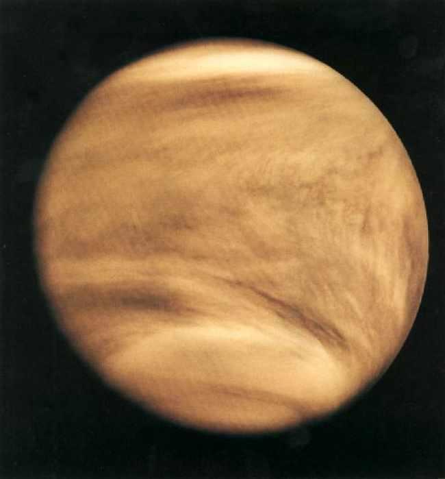 Фото Венеры, полученное космическим аппаратом Pioneer Venus