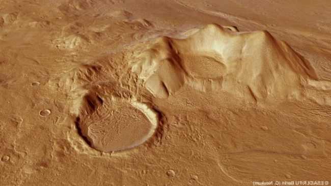 Фотография высокогорья, прилегающего к Reull Vallis
