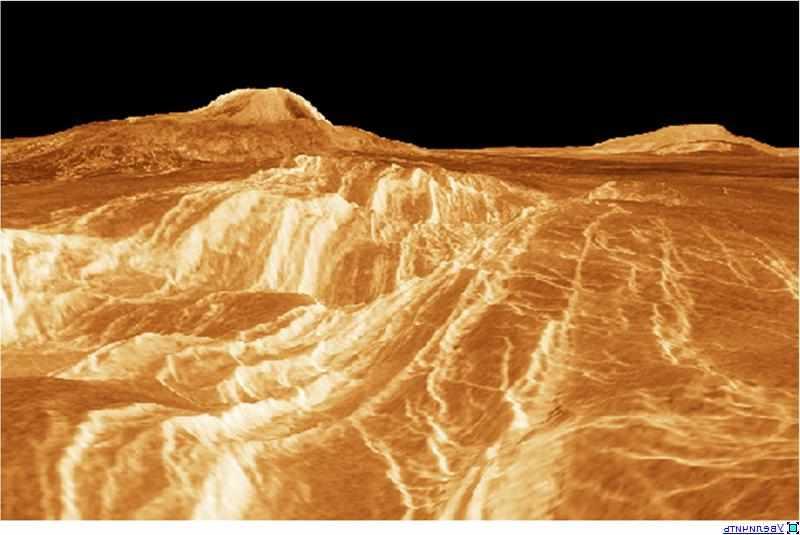 Горы на Венере