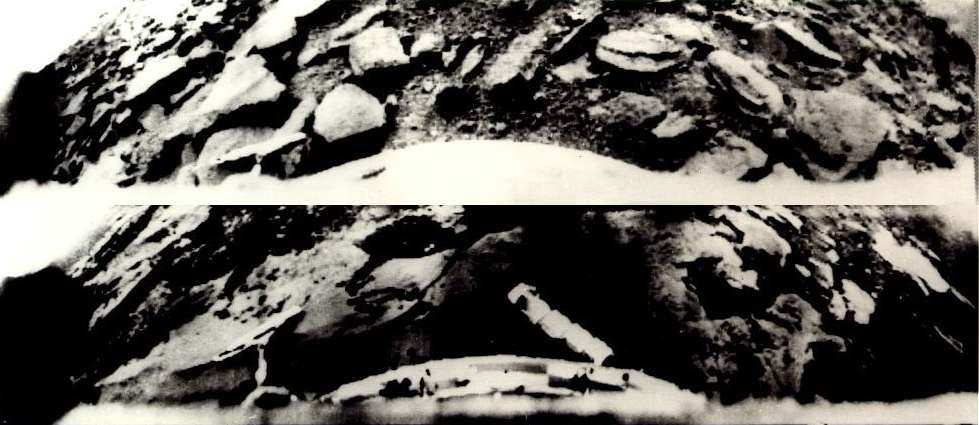 Снимки космических аппаратов Венера-9 и Венера-10