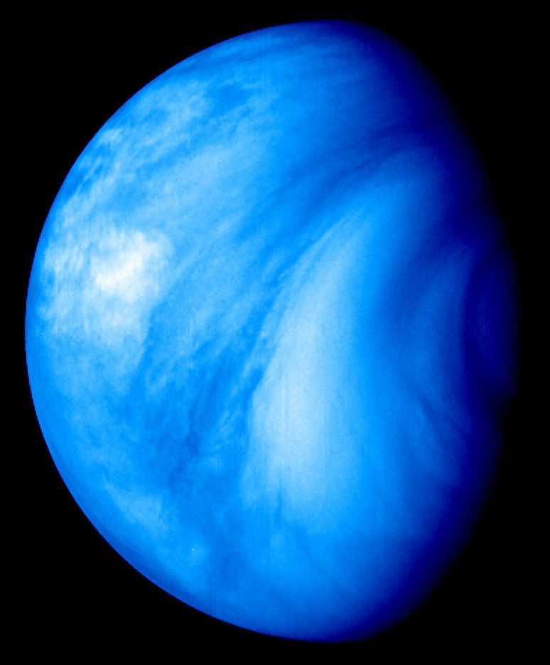 Снимок Венеры Venus Express