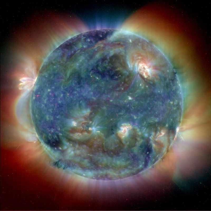 Солнце в УФ спектре
