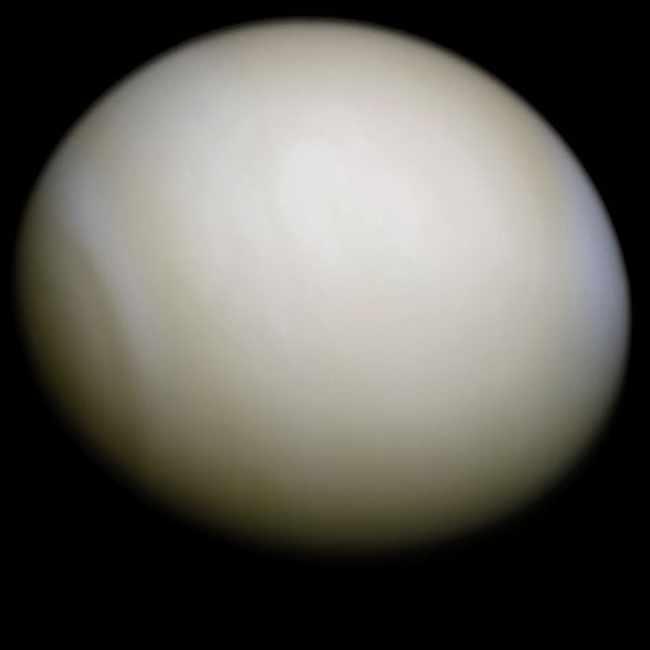 Венера, укутанная в облаках