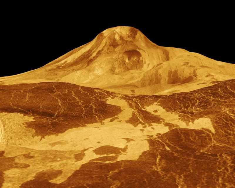 Вулкан на Венере