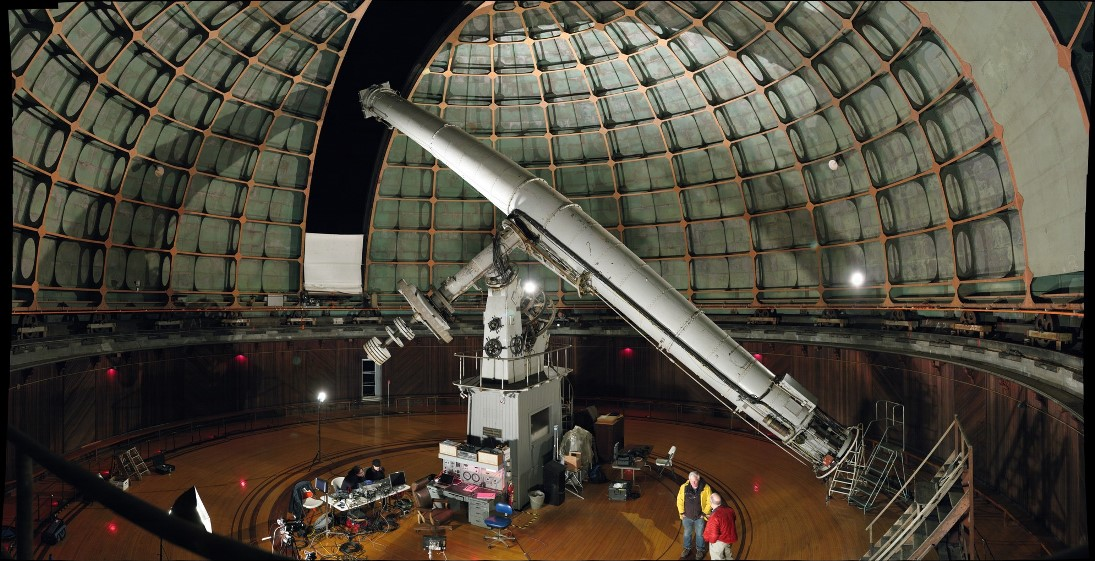Телескоп-рефрактор Ликской обсерватори