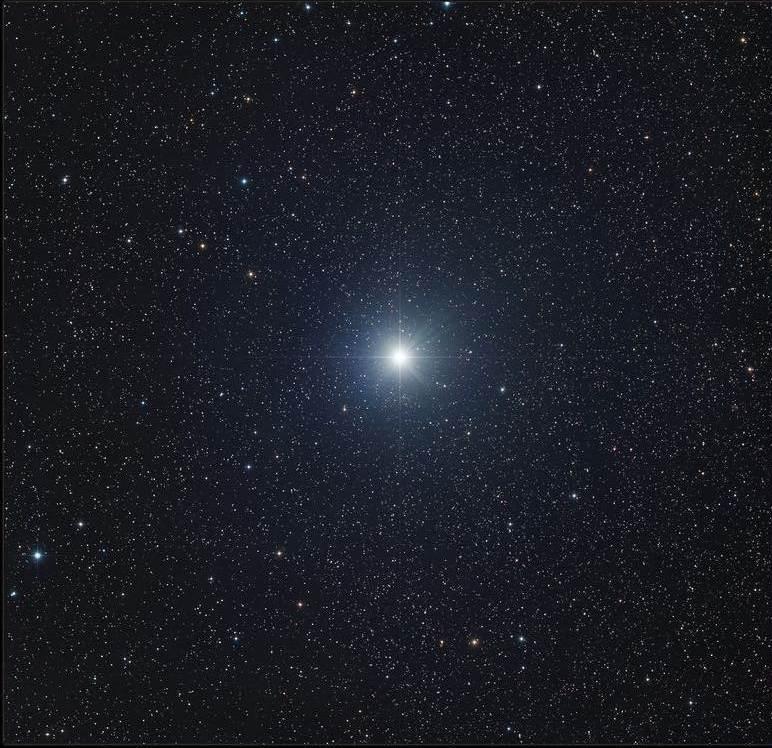 сириус на небе фото