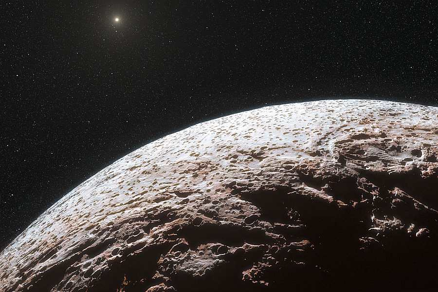Покрытие звезды карликовой планетой 23