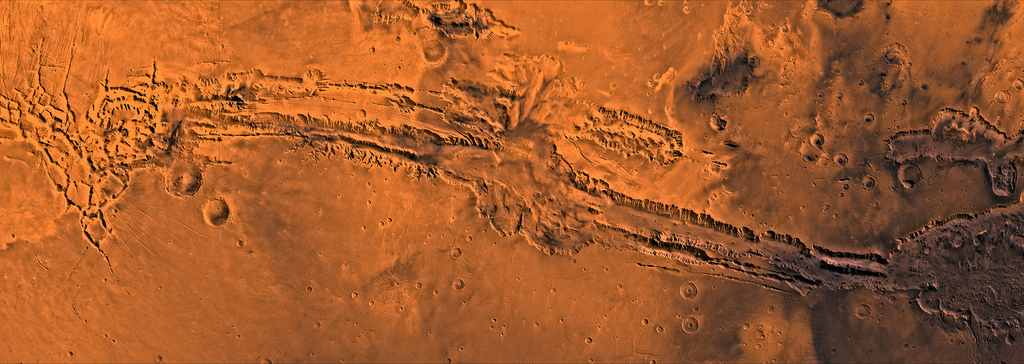 Долина Маринера - Valles Marineris