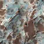 Гидратированные минералы в регионе Sirenum