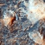 Мегабрекчия на дне кратера.