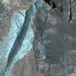 Осадочные отложения во кратере Terby