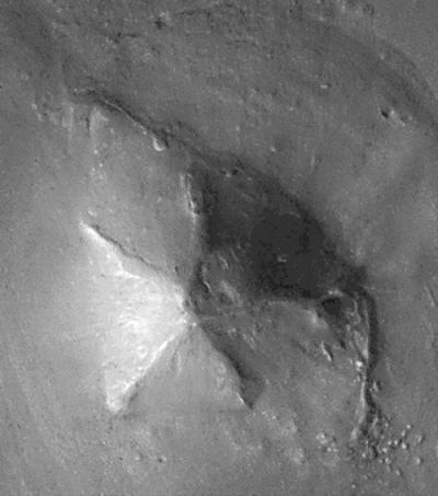 Пирамиды держи Марсе